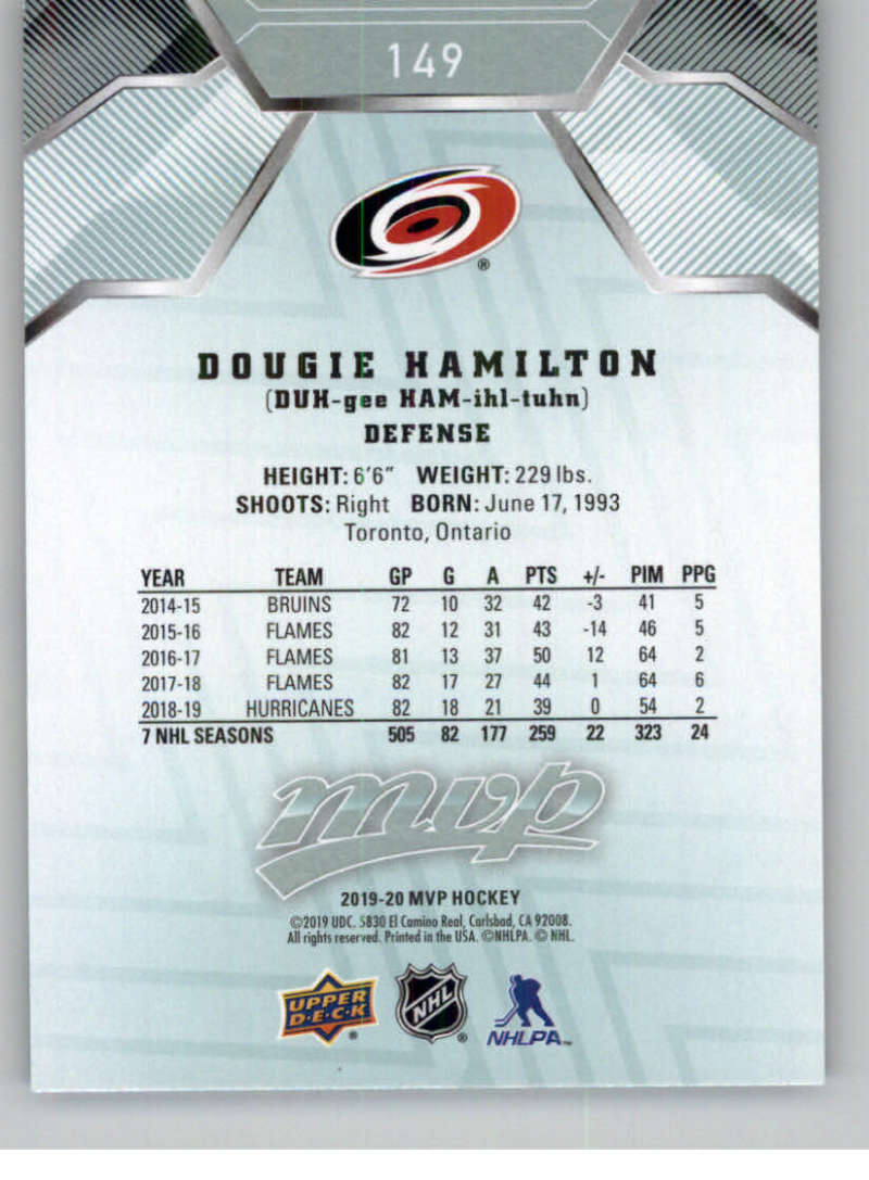 miniature 199 - 2019-20-Upper-Deck-MVP-NHL-Hockey-Cards-Pick-From-List-Base-SP-and-Rookies