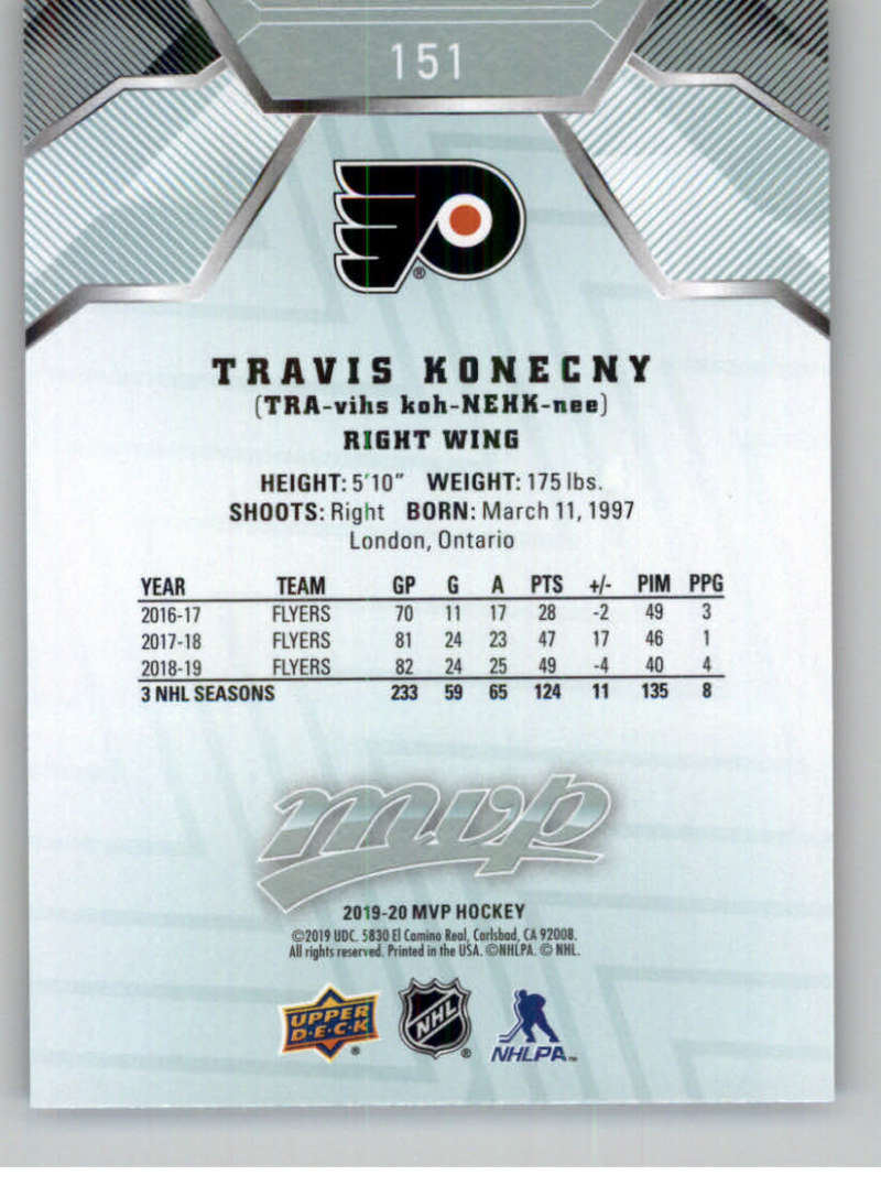 miniature 203 - 2019-20-Upper-Deck-MVP-NHL-Hockey-Cards-Pick-From-List-Base-SP-and-Rookies