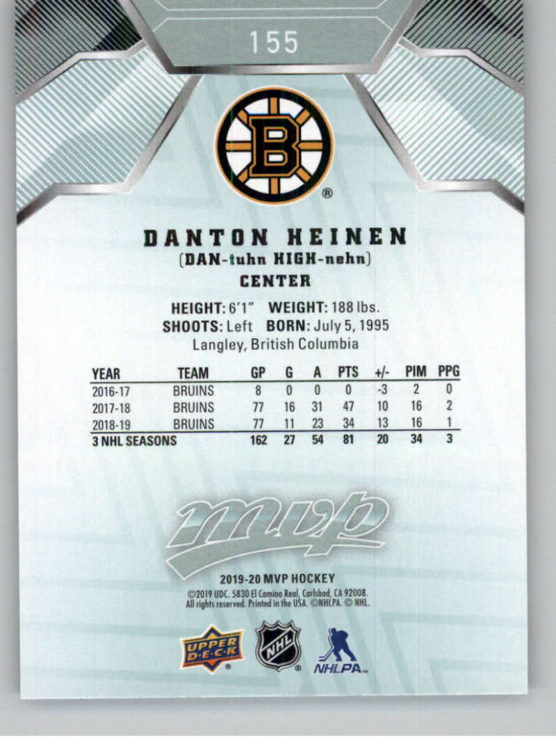 miniature 211 - 2019-20-Upper-Deck-MVP-NHL-Hockey-Cards-Pick-From-List-Base-SP-and-Rookies