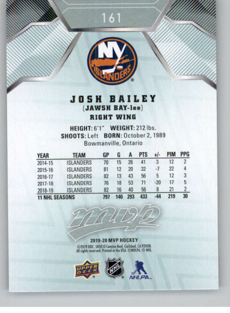 miniature 219 - 2019-20-Upper-Deck-MVP-NHL-Hockey-Cards-Pick-From-List-Base-SP-and-Rookies