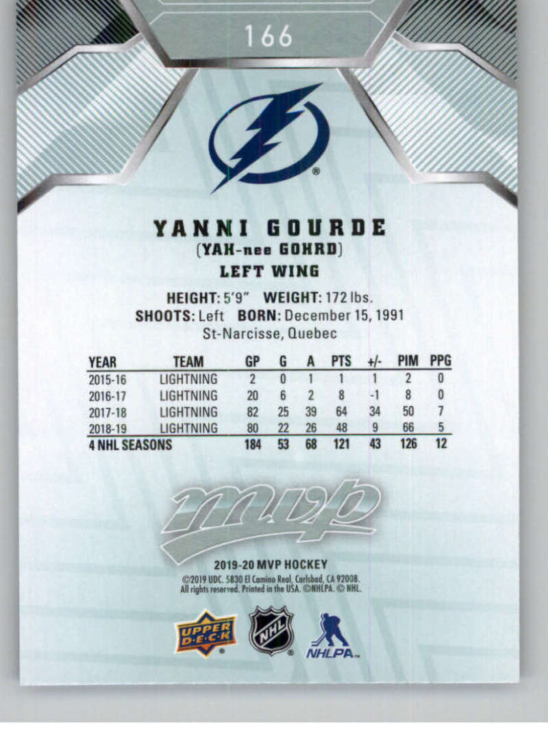 miniature 229 - 2019-20-Upper-Deck-MVP-NHL-Hockey-Cards-Pick-From-List-Base-SP-and-Rookies