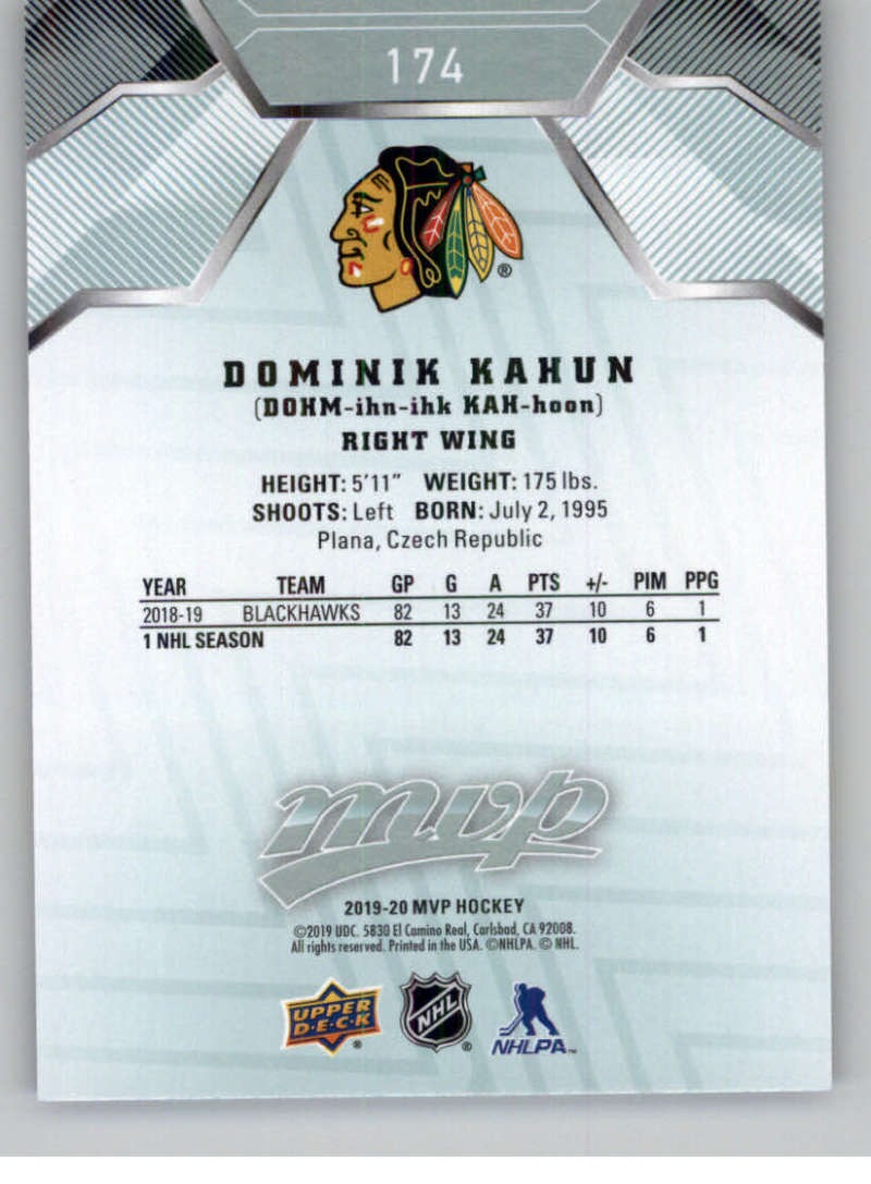 miniature 237 - 2019-20-Upper-Deck-MVP-NHL-Hockey-Cards-Pick-From-List-Base-SP-and-Rookies