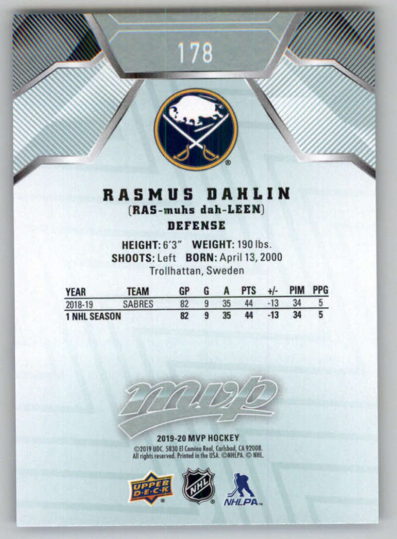 miniature 245 - 2019-20-Upper-Deck-MVP-NHL-Hockey-Cards-Pick-From-List-Base-SP-and-Rookies
