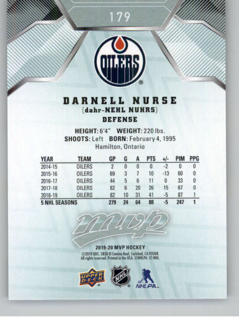 miniature 247 - 2019-20-Upper-Deck-MVP-NHL-Hockey-Cards-Pick-From-List-Base-SP-and-Rookies