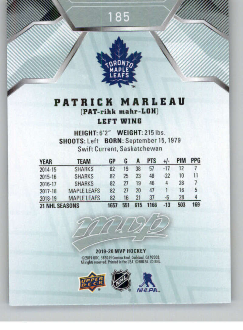miniature 253 - 2019-20-Upper-Deck-MVP-NHL-Hockey-Cards-Pick-From-List-Base-SP-and-Rookies