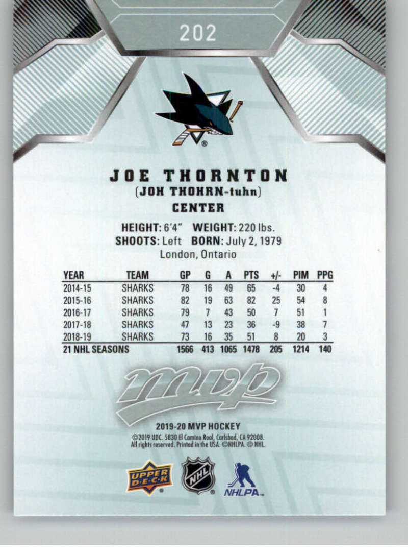 miniature 277 - 2019-20-Upper-Deck-MVP-NHL-Hockey-Cards-Pick-From-List-Base-SP-and-Rookies