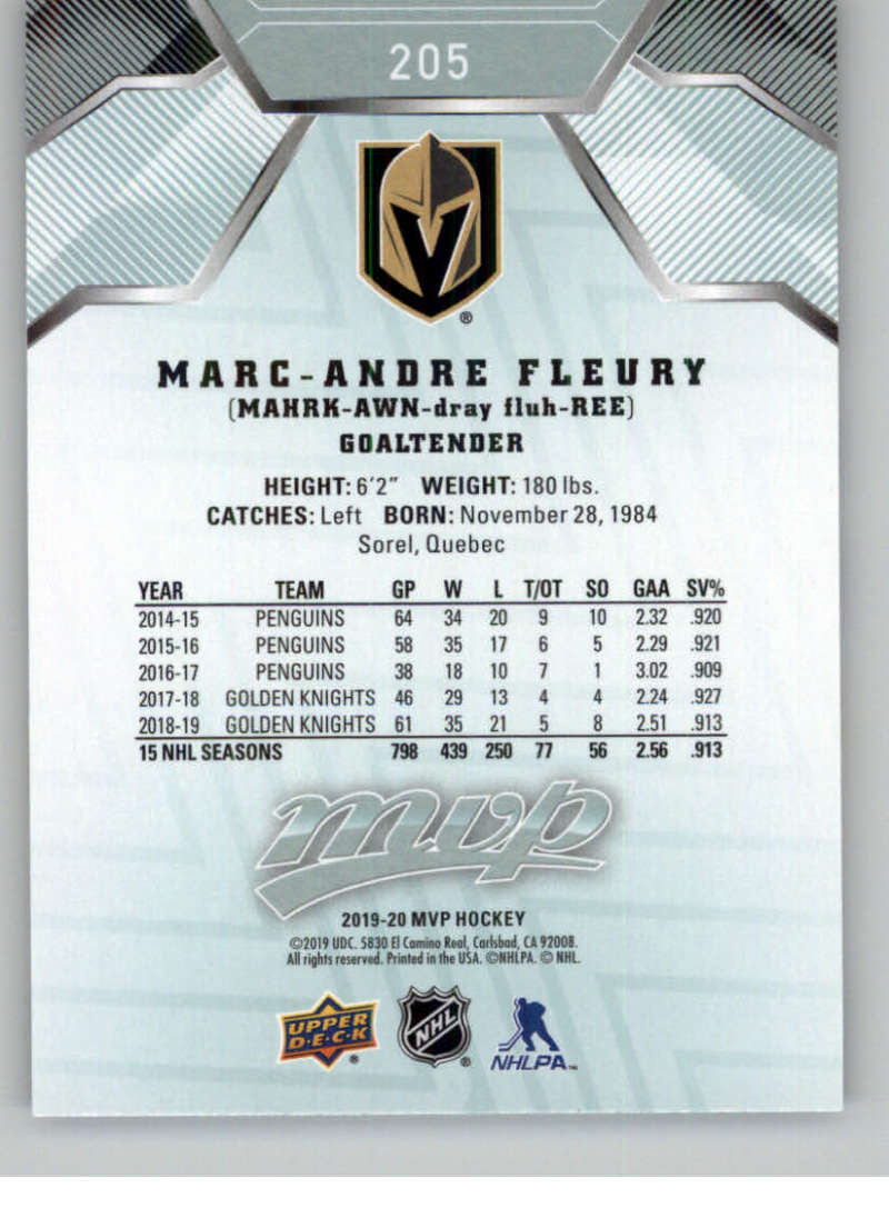 miniature 283 - 2019-20-Upper-Deck-MVP-NHL-Hockey-Cards-Pick-From-List-Base-SP-and-Rookies