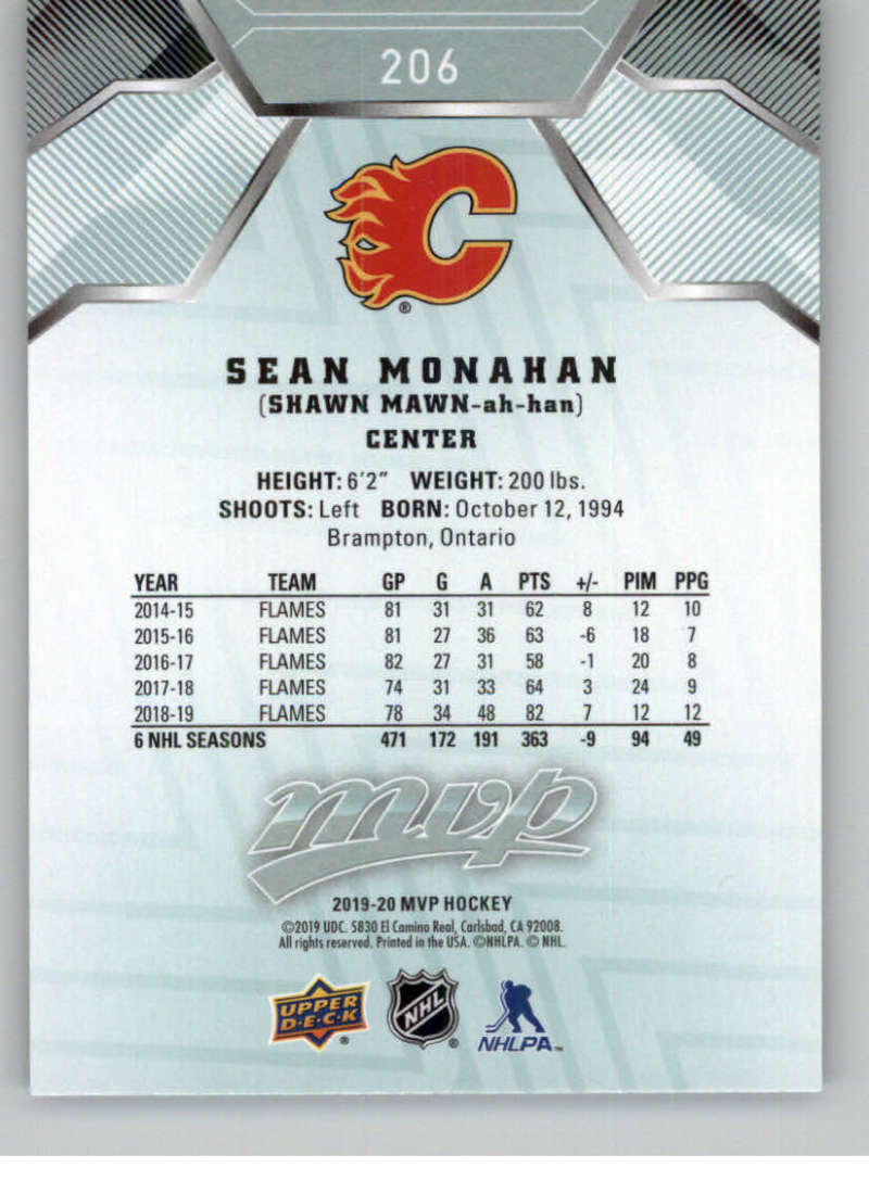miniature 285 - 2019-20-Upper-Deck-MVP-NHL-Hockey-Cards-Pick-From-List-Base-SP-and-Rookies