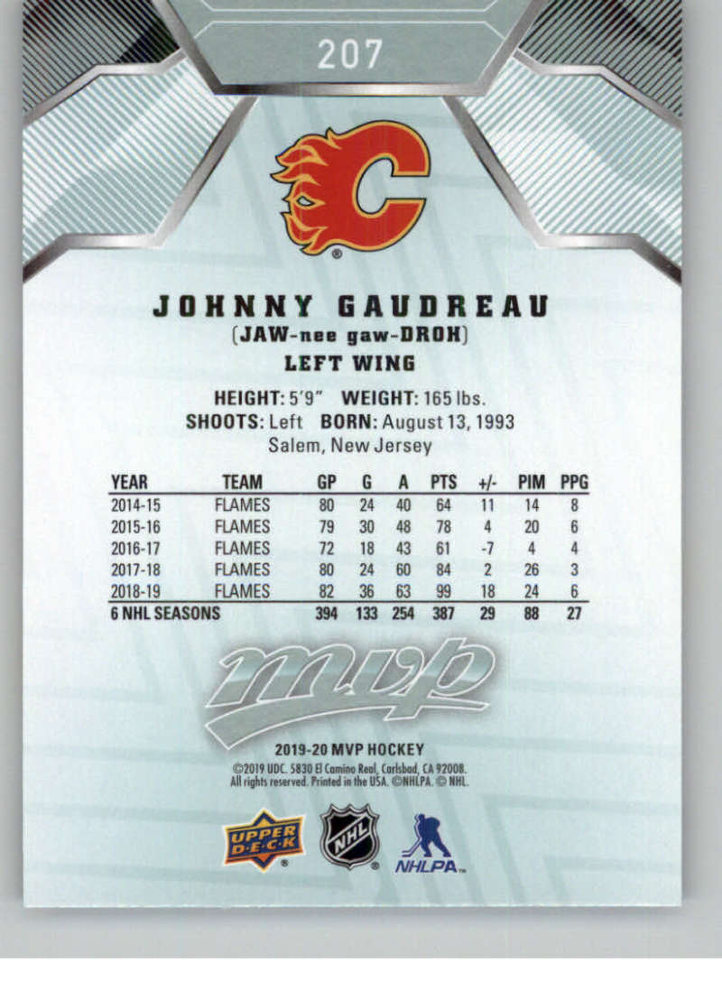 miniature 287 - 2019-20-Upper-Deck-MVP-NHL-Hockey-Cards-Pick-From-List-Base-SP-and-Rookies