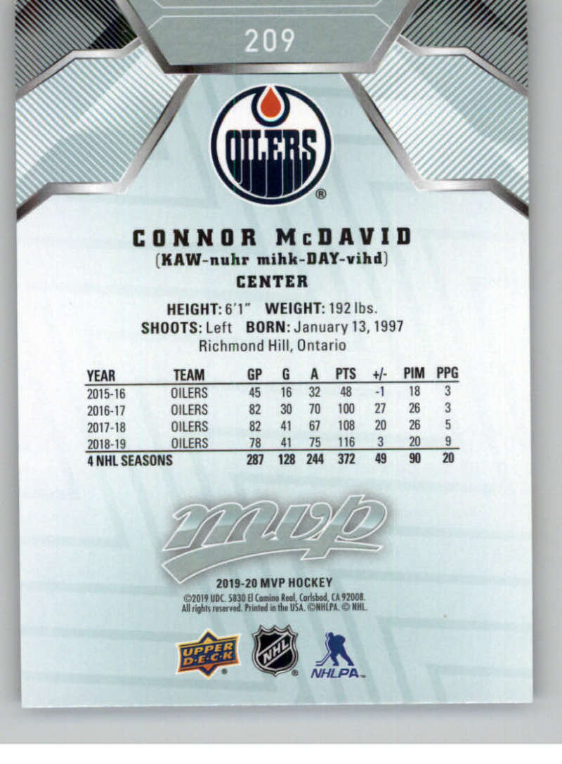miniature 291 - 2019-20-Upper-Deck-MVP-NHL-Hockey-Cards-Pick-From-List-Base-SP-and-Rookies