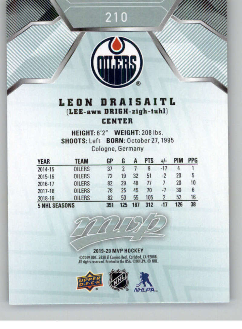 miniature 293 - 2019-20-Upper-Deck-MVP-NHL-Hockey-Cards-Pick-From-List-Base-SP-and-Rookies