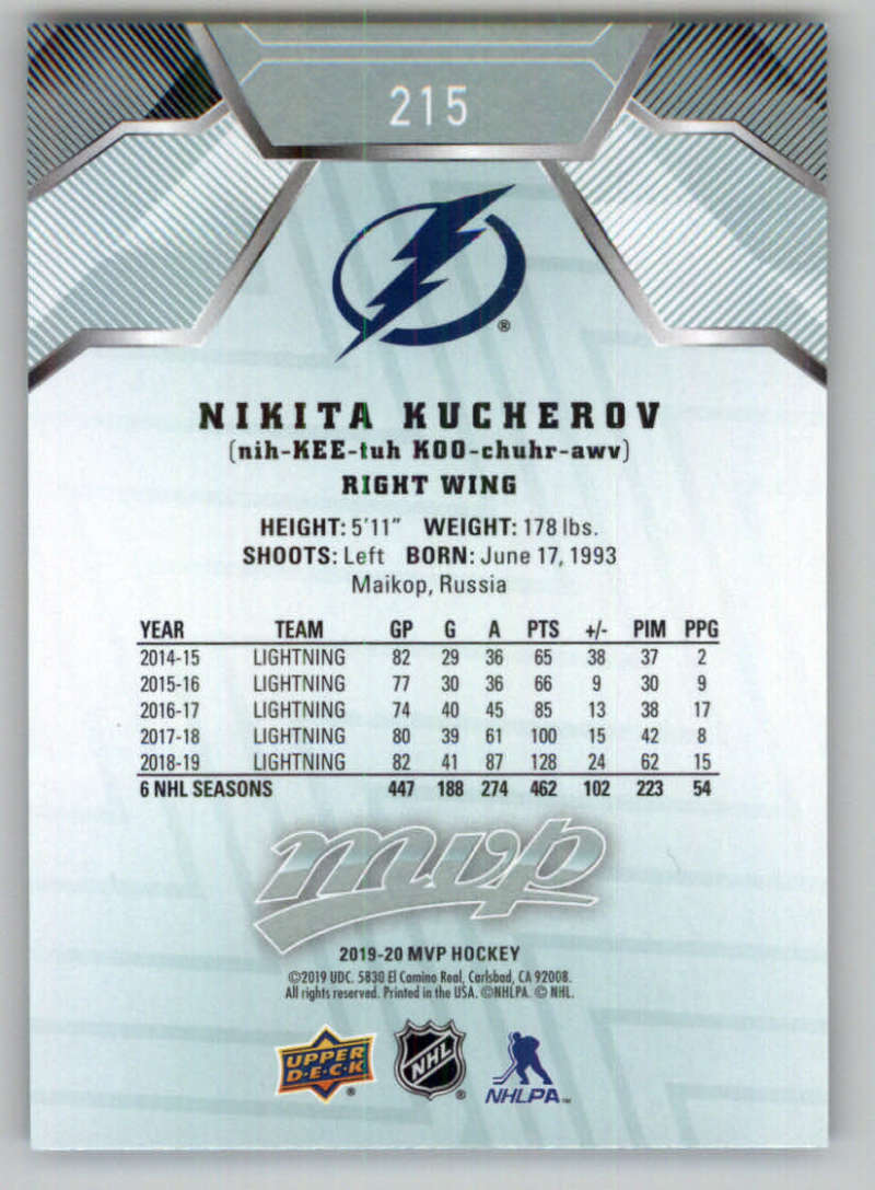miniature 303 - 2019-20-Upper-Deck-MVP-NHL-Hockey-Cards-Pick-From-List-Base-SP-and-Rookies