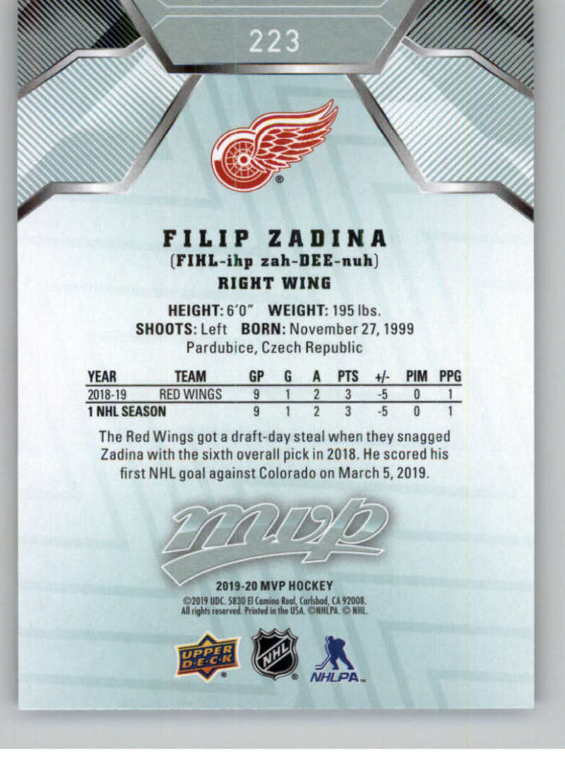 miniature 319 - 2019-20-Upper-Deck-MVP-NHL-Hockey-Cards-Pick-From-List-Base-SP-and-Rookies