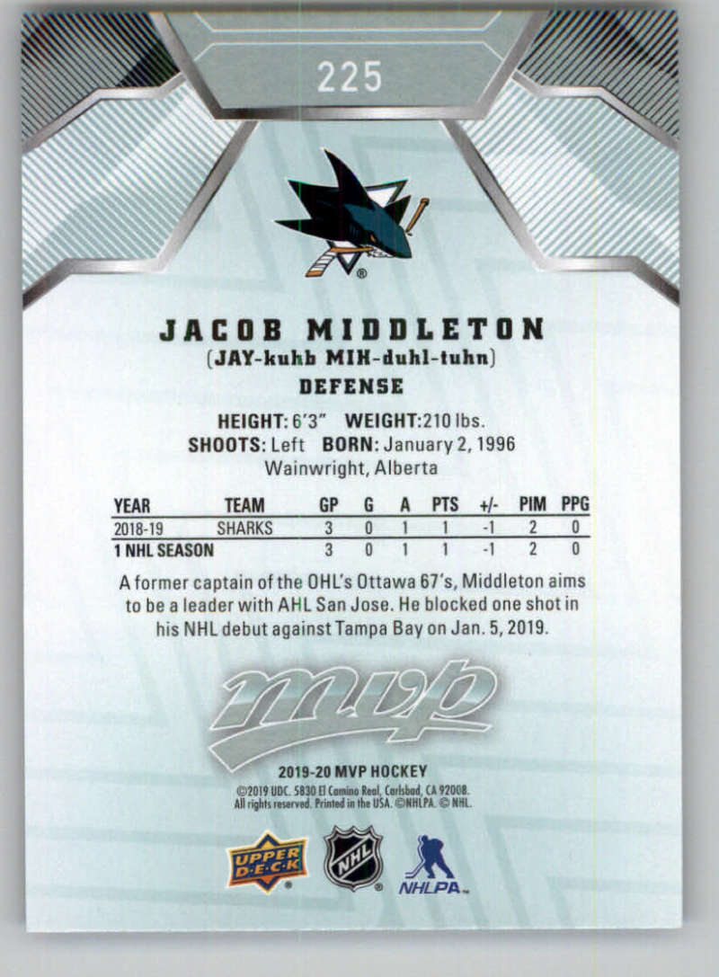 miniature 323 - 2019-20-Upper-Deck-MVP-NHL-Hockey-Cards-Pick-From-List-Base-SP-and-Rookies