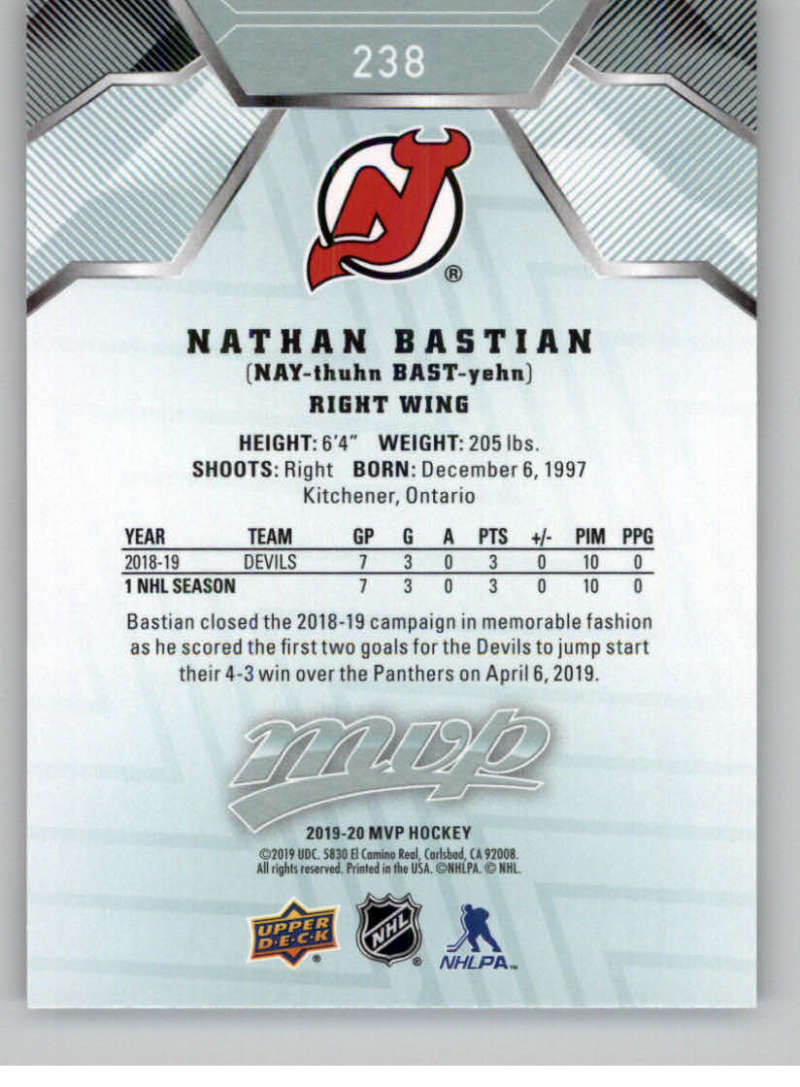 miniature 349 - 2019-20-Upper-Deck-MVP-NHL-Hockey-Cards-Pick-From-List-Base-SP-and-Rookies