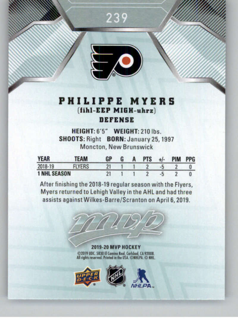 miniature 351 - 2019-20-Upper-Deck-MVP-NHL-Hockey-Cards-Pick-From-List-Base-SP-and-Rookies