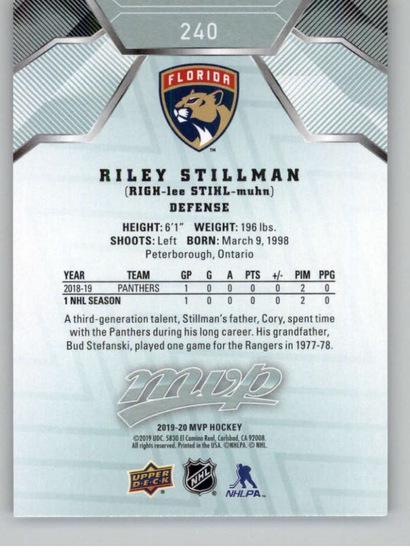 miniature 353 - 2019-20-Upper-Deck-MVP-NHL-Hockey-Cards-Pick-From-List-Base-SP-and-Rookies