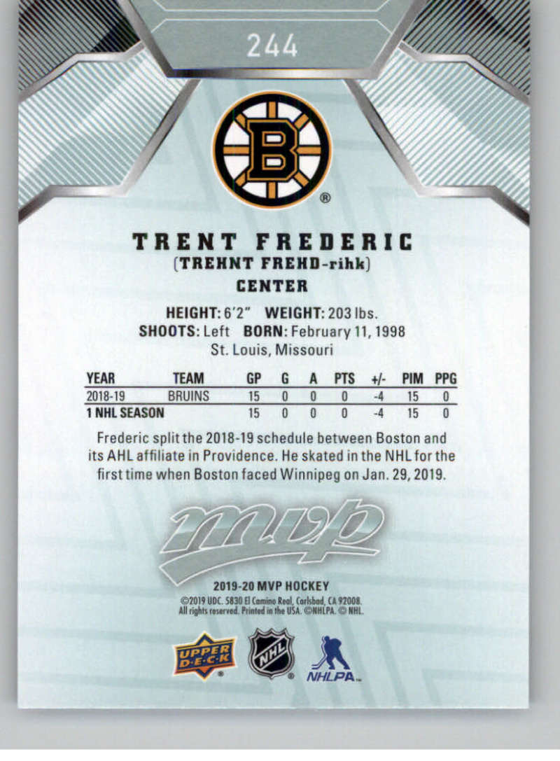 miniature 361 - 2019-20-Upper-Deck-MVP-NHL-Hockey-Cards-Pick-From-List-Base-SP-and-Rookies