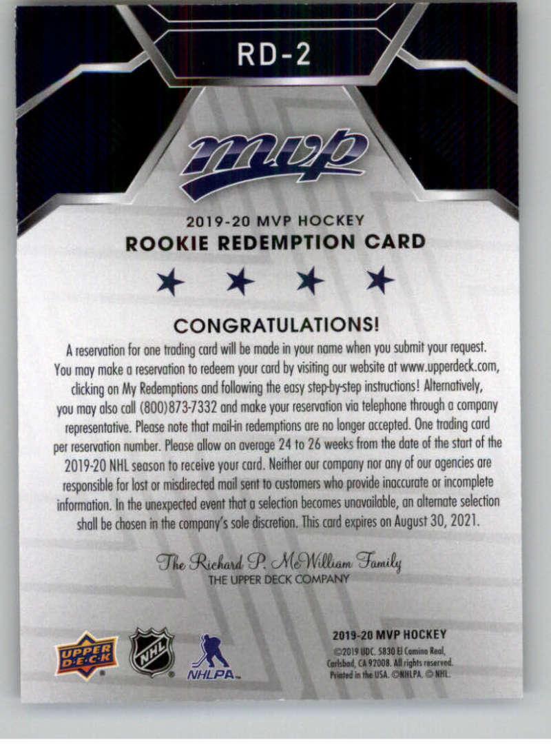 2019-20-Upper-Deck-MVP-Hockey-INSERT-OR-AUTOGRAPH-CARDS-Pick-From-List miniature 3