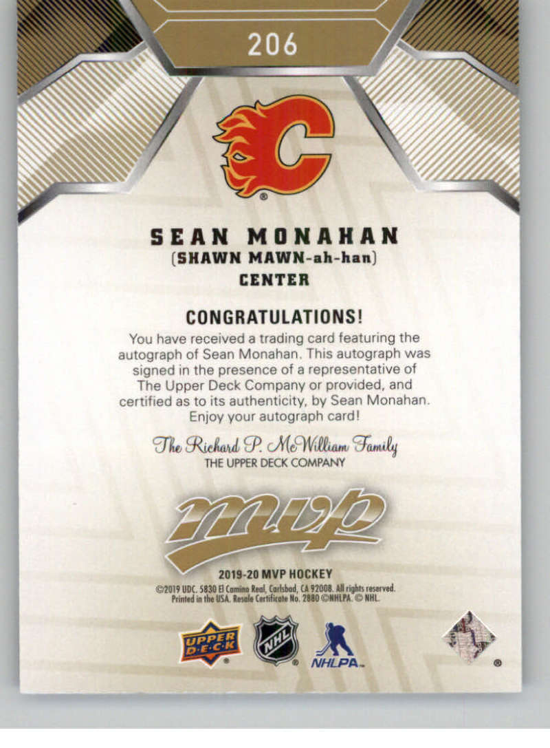 2019-20-Upper-Deck-MVP-Hockey-INSERT-OR-AUTOGRAPH-CARDS-Pick-From-List miniature 7