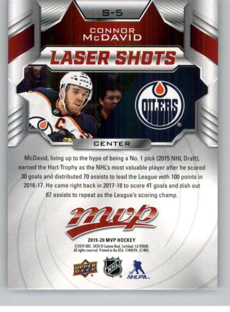 2019-20-Upper-Deck-MVP-Hockey-INSERT-OR-AUTOGRAPH-CARDS-Pick-From-List miniature 39