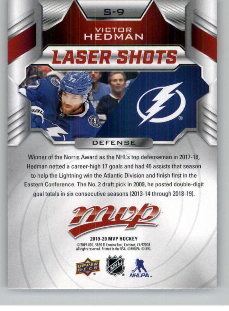 2019-20-Upper-Deck-MVP-Hockey-INSERT-OR-AUTOGRAPH-CARDS-Pick-From-List miniature 43