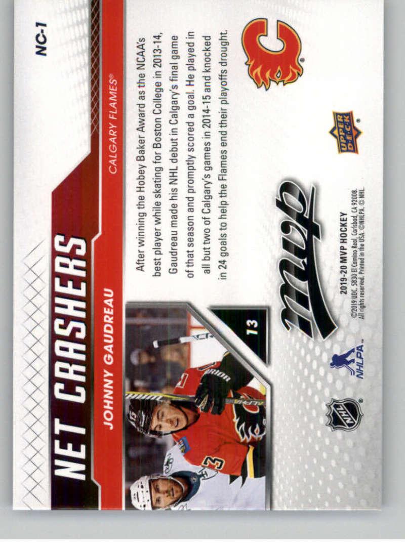 2019-20-Upper-Deck-MVP-Hockey-INSERT-OR-AUTOGRAPH-CARDS-Pick-From-List miniature 47