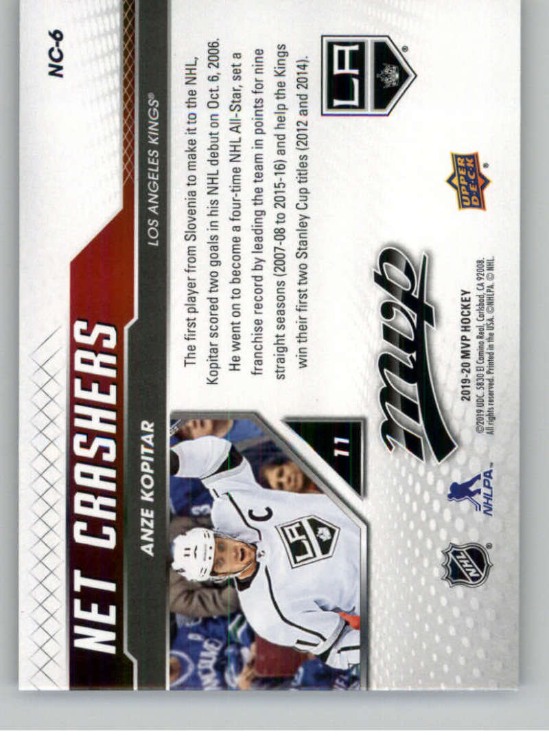 2019-20-Upper-Deck-MVP-Hockey-INSERT-OR-AUTOGRAPH-CARDS-Pick-From-List miniature 57