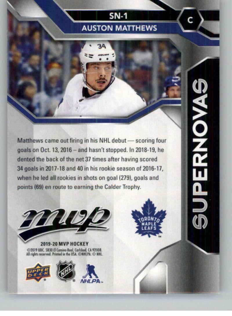 2019-20-Upper-Deck-MVP-Hockey-INSERT-OR-AUTOGRAPH-CARDS-Pick-From-List miniature 67