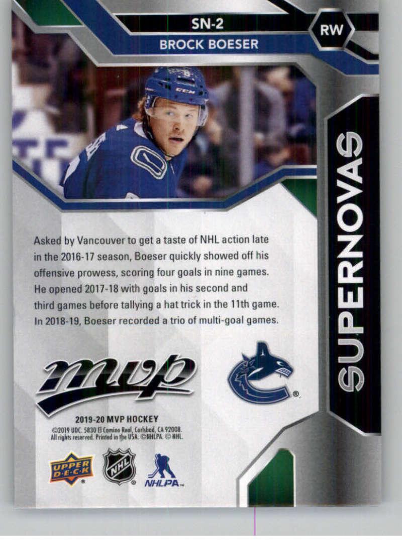 2019-20-Upper-Deck-MVP-Hockey-INSERT-OR-AUTOGRAPH-CARDS-Pick-From-List miniature 69