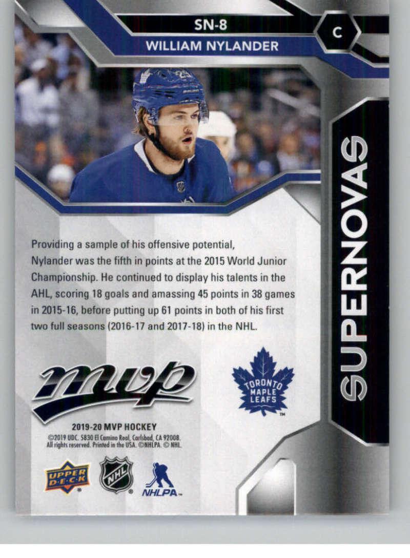 2019-20-Upper-Deck-MVP-Hockey-INSERT-OR-AUTOGRAPH-CARDS-Pick-From-List miniature 77
