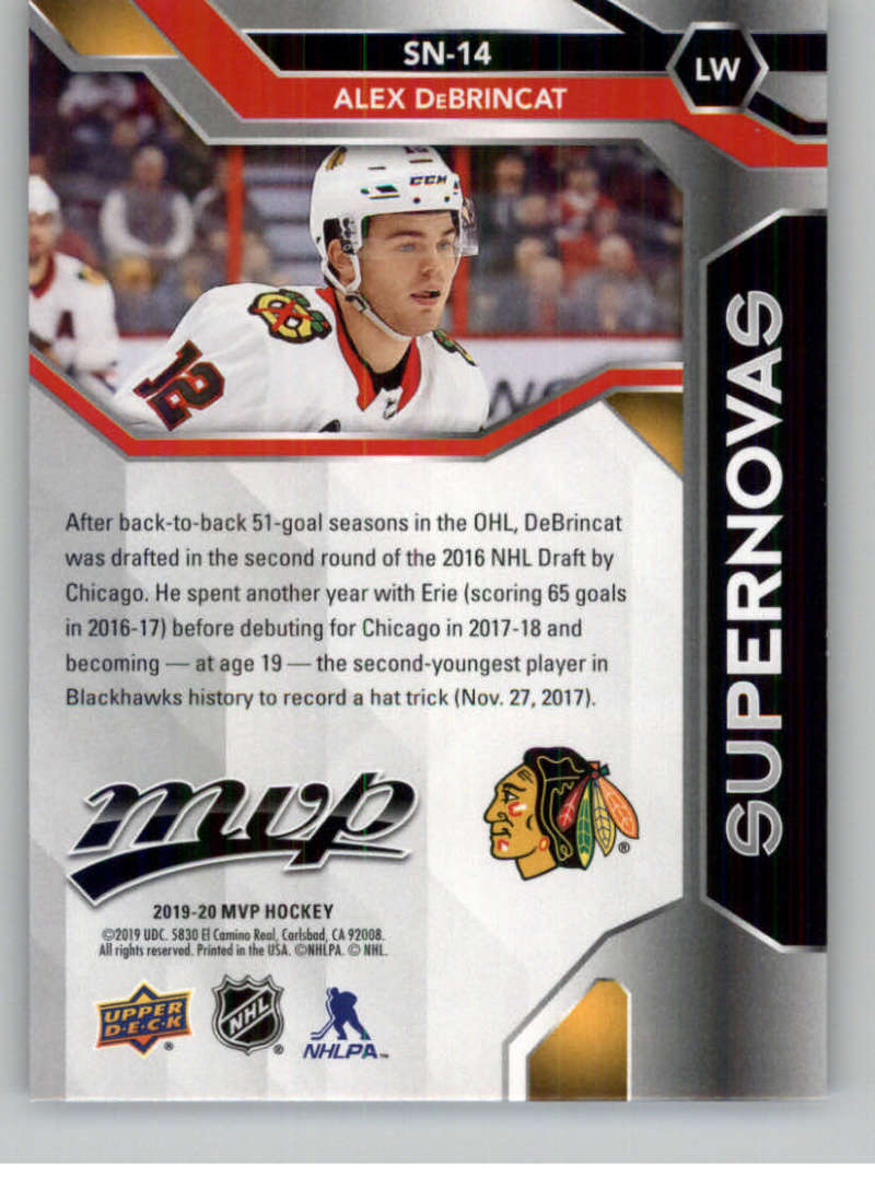 2019-20-Upper-Deck-MVP-Hockey-INSERT-OR-AUTOGRAPH-CARDS-Pick-From-List miniature 87