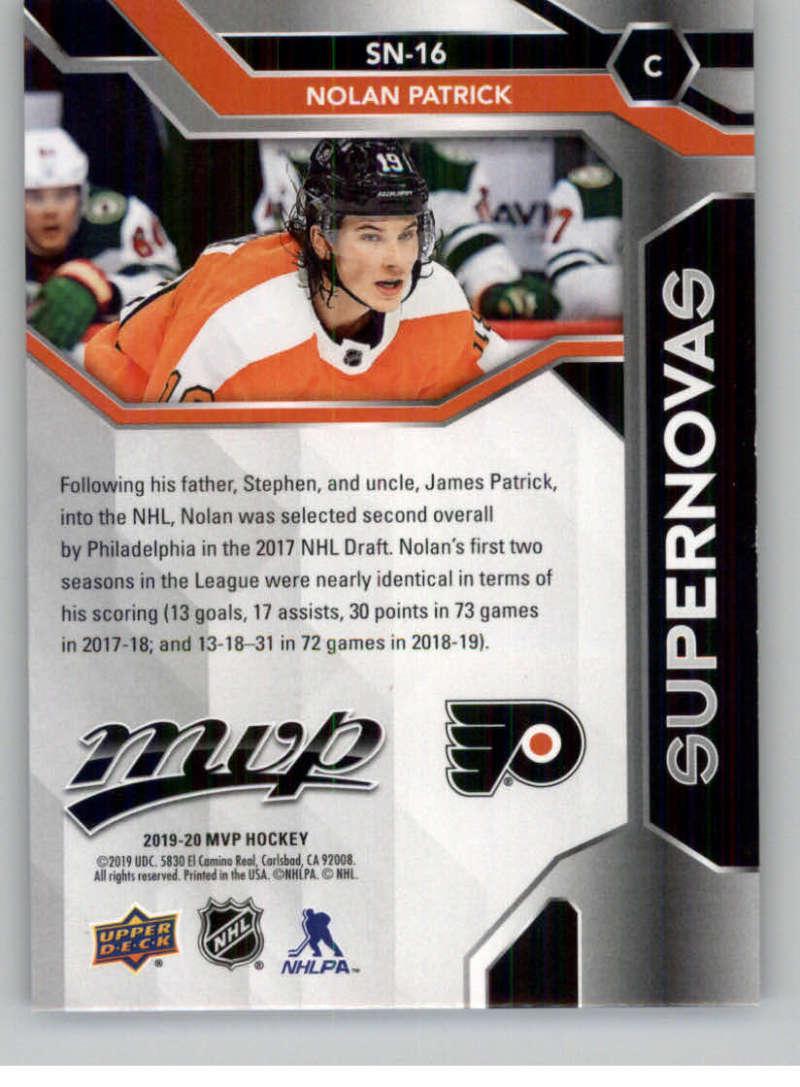 2019-20-Upper-Deck-MVP-Hockey-INSERT-OR-AUTOGRAPH-CARDS-Pick-From-List miniature 89
