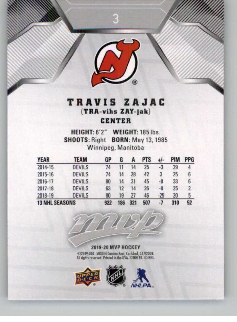miniature 3 - 2019-20-Upper-Deck-MVP-Silver-Script-NHL-Hockey-Trading-Cards-Pick-From-List