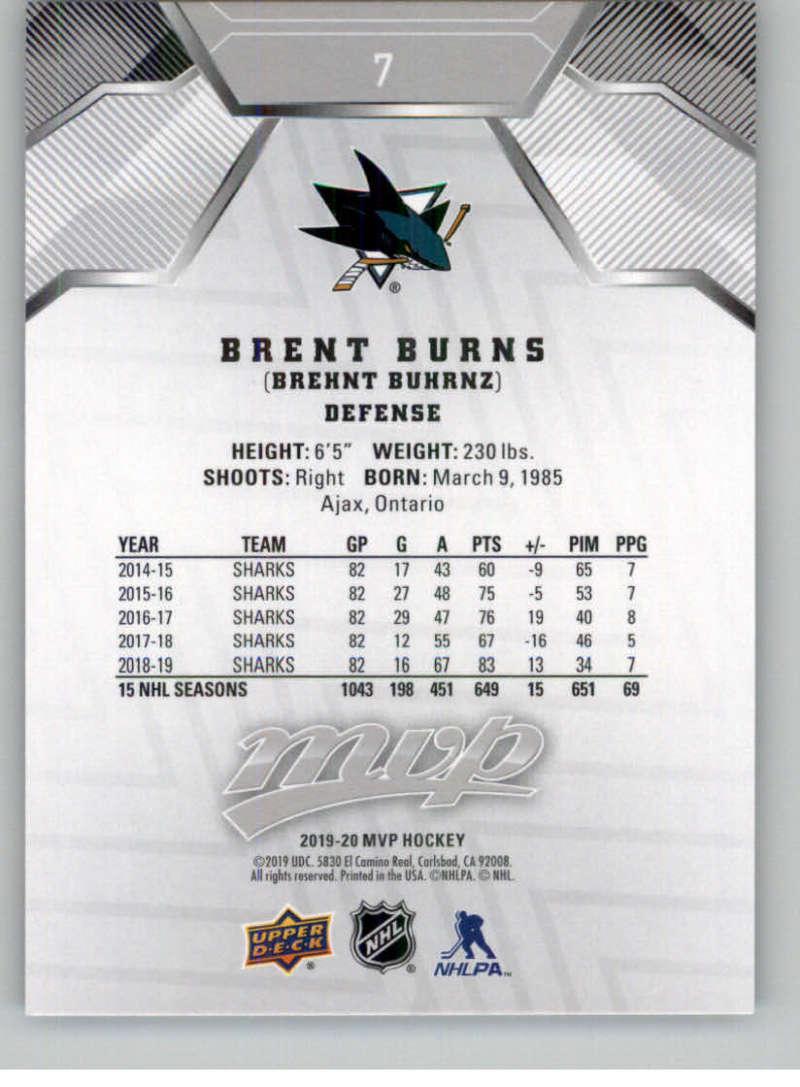 miniature 7 - 2019-20-Upper-Deck-MVP-Silver-Script-NHL-Hockey-Trading-Cards-Pick-From-List