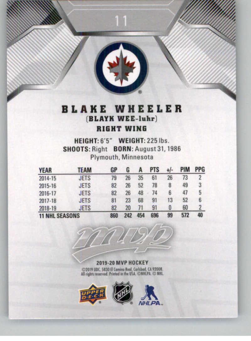 miniature 13 - 2019-20-Upper-Deck-MVP-Silver-Script-NHL-Hockey-Trading-Cards-Pick-From-List