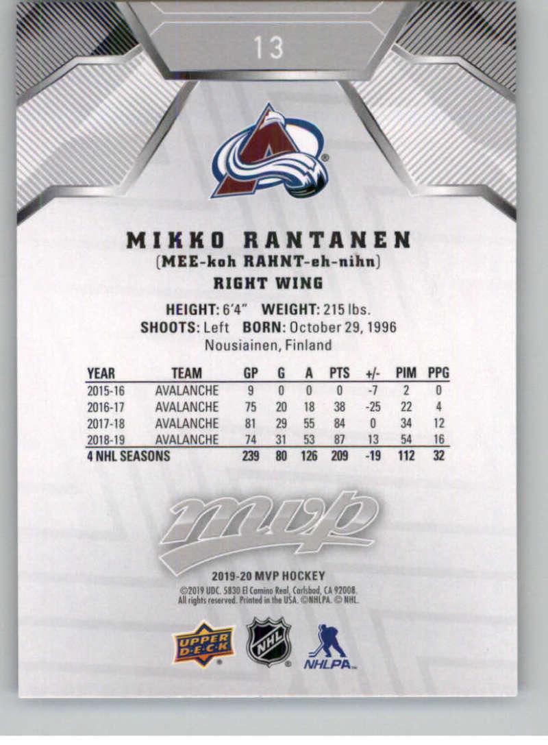 miniature 15 - 2019-20-Upper-Deck-MVP-Silver-Script-NHL-Hockey-Trading-Cards-Pick-From-List