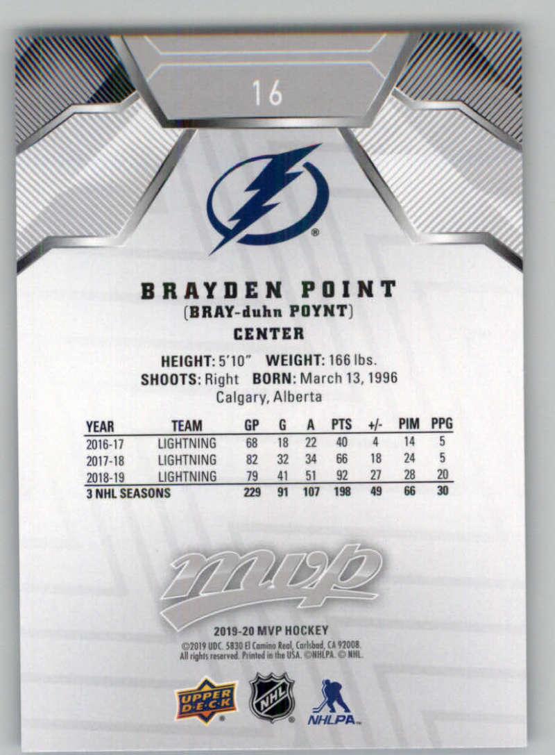 miniature 19 - 2019-20-Upper-Deck-MVP-Silver-Script-NHL-Hockey-Trading-Cards-Pick-From-List