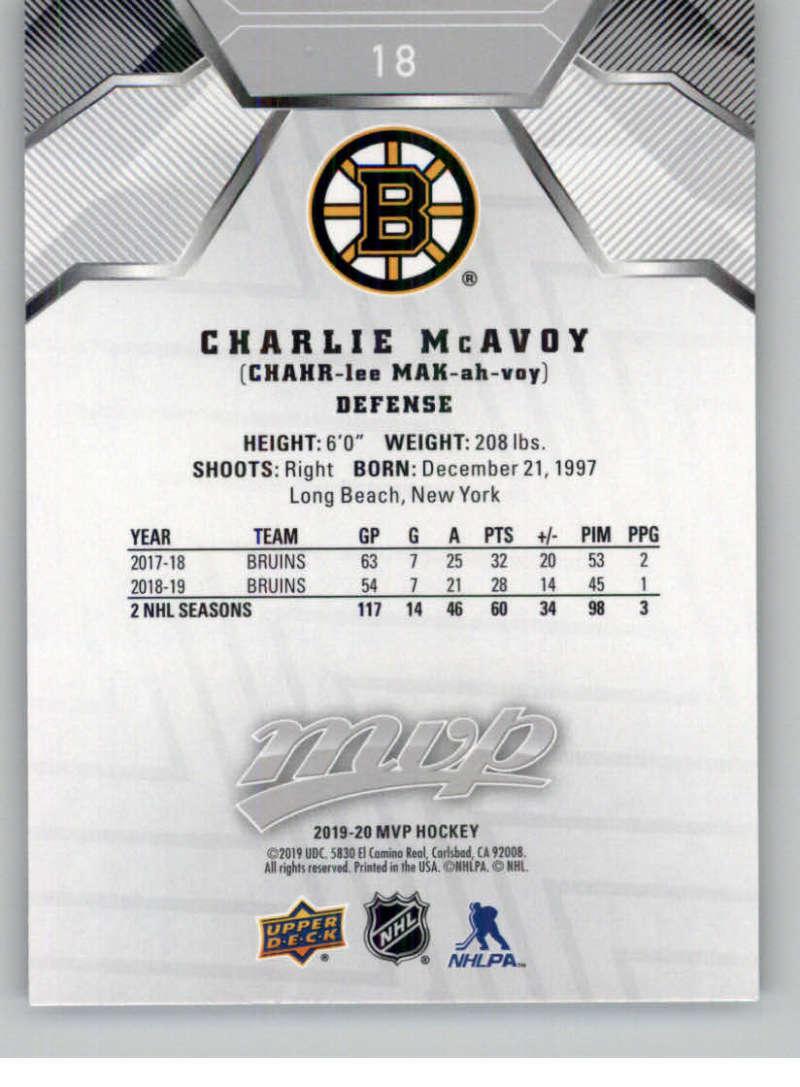 miniature 21 - 2019-20-Upper-Deck-MVP-Silver-Script-NHL-Hockey-Trading-Cards-Pick-From-List