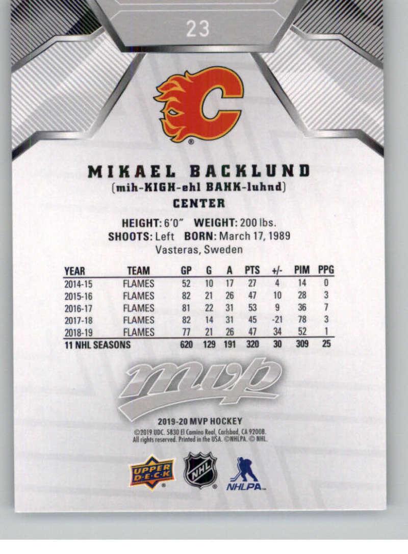 miniature 27 - 2019-20-Upper-Deck-MVP-Silver-Script-NHL-Hockey-Trading-Cards-Pick-From-List