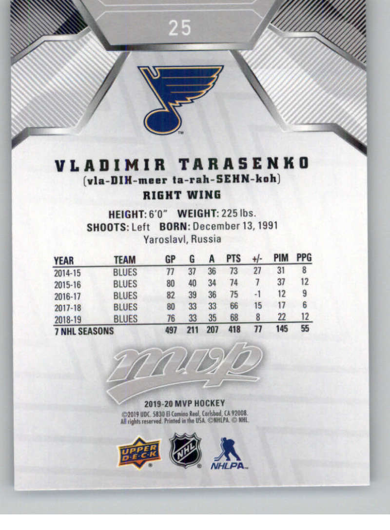 miniature 29 - 2019-20-Upper-Deck-MVP-Silver-Script-NHL-Hockey-Trading-Cards-Pick-From-List