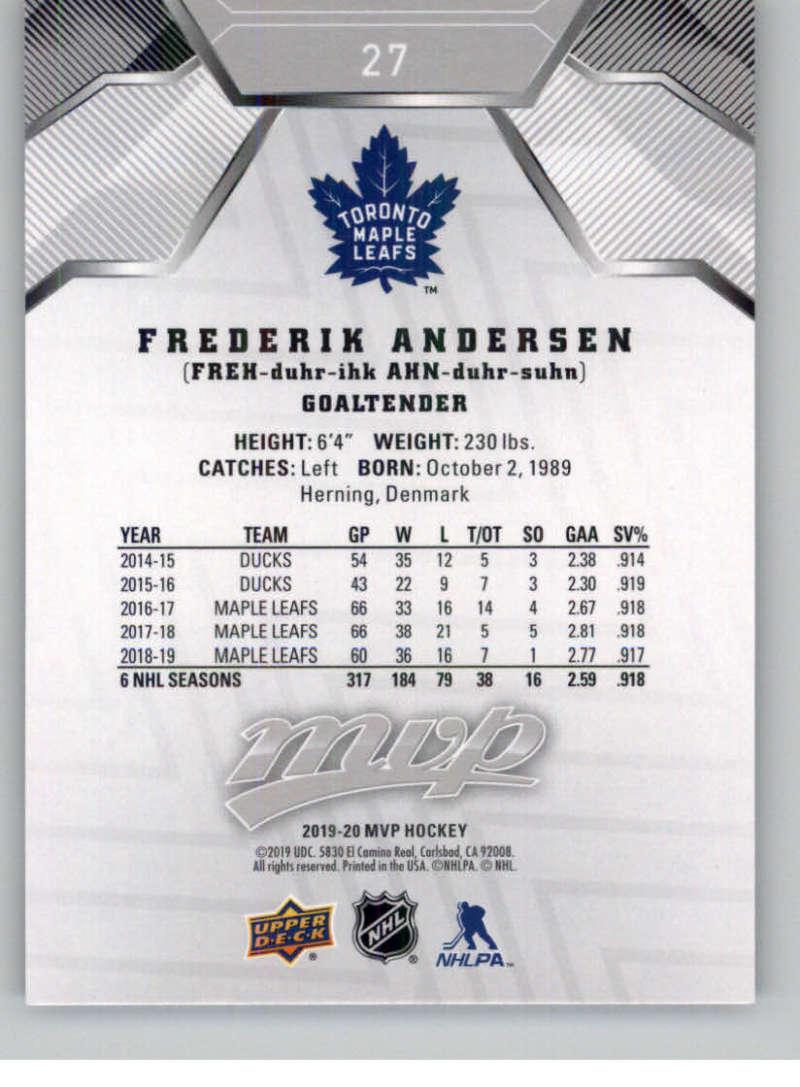 miniature 33 - 2019-20-Upper-Deck-MVP-Silver-Script-NHL-Hockey-Trading-Cards-Pick-From-List