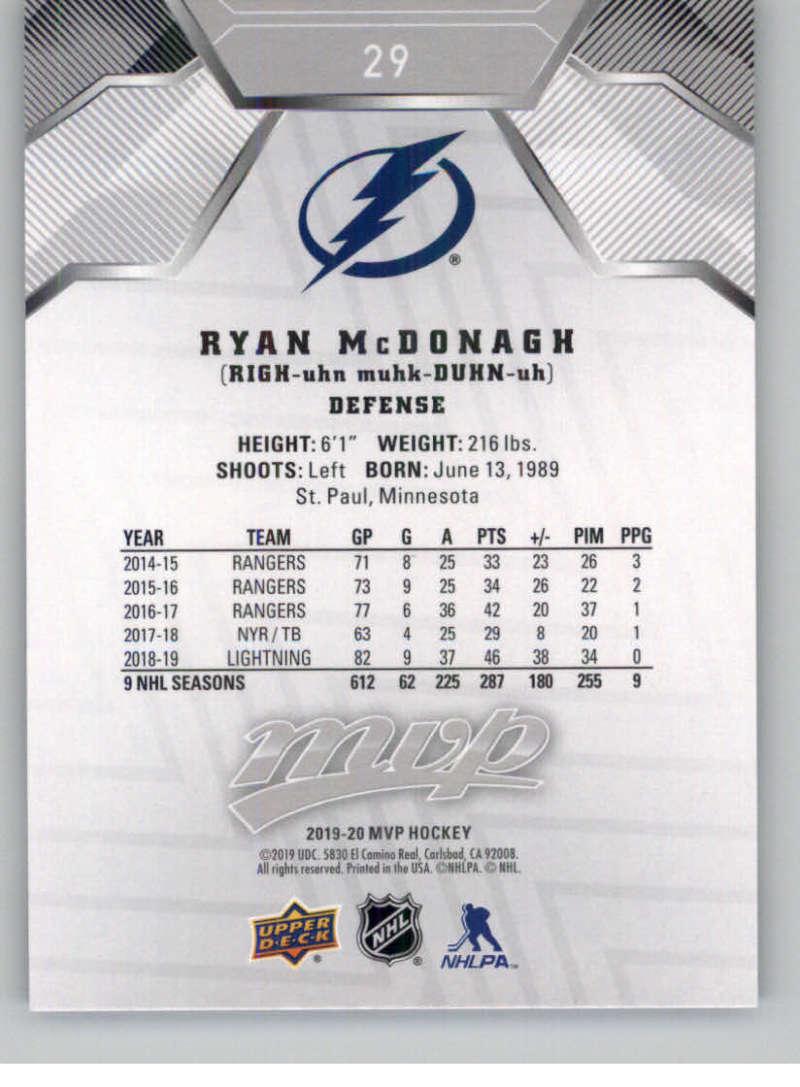 miniature 35 - 2019-20-Upper-Deck-MVP-Silver-Script-NHL-Hockey-Trading-Cards-Pick-From-List