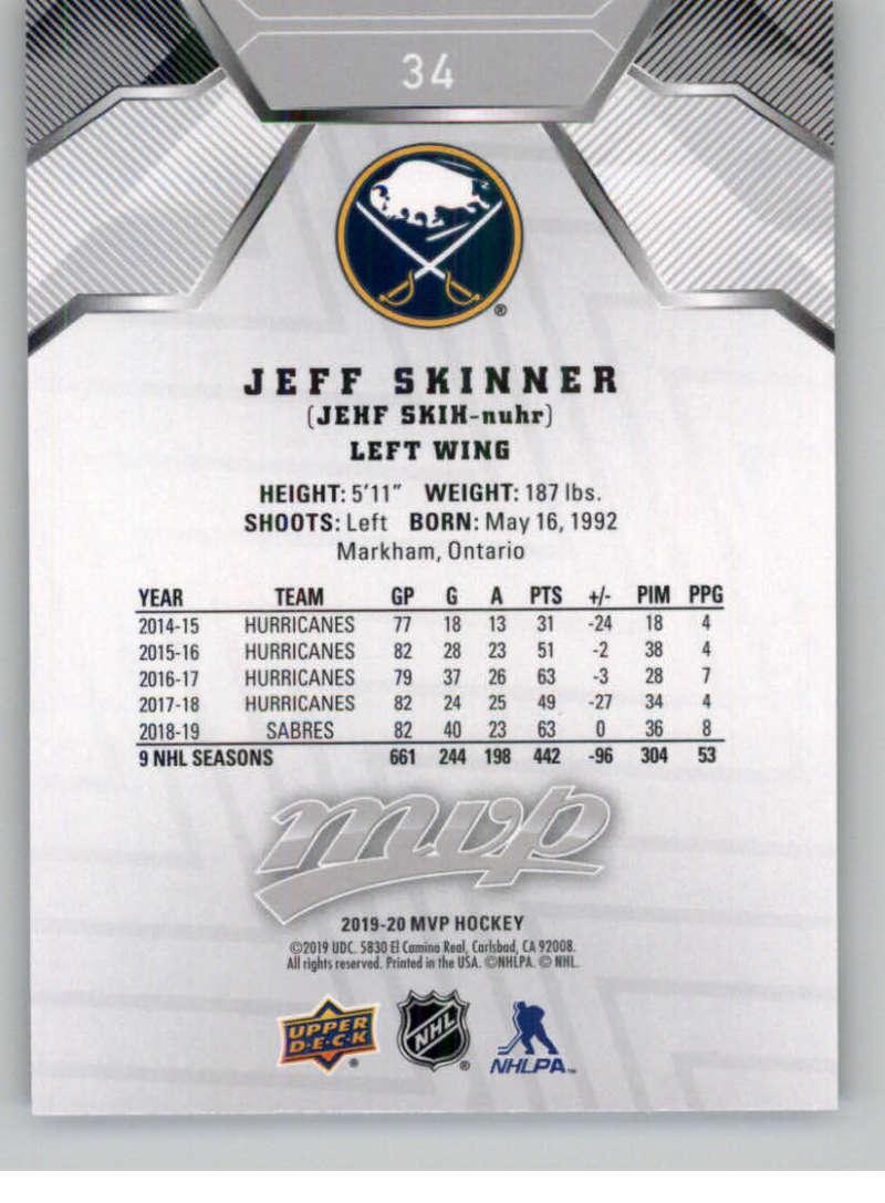 miniature 43 - 2019-20-Upper-Deck-MVP-Silver-Script-NHL-Hockey-Trading-Cards-Pick-From-List