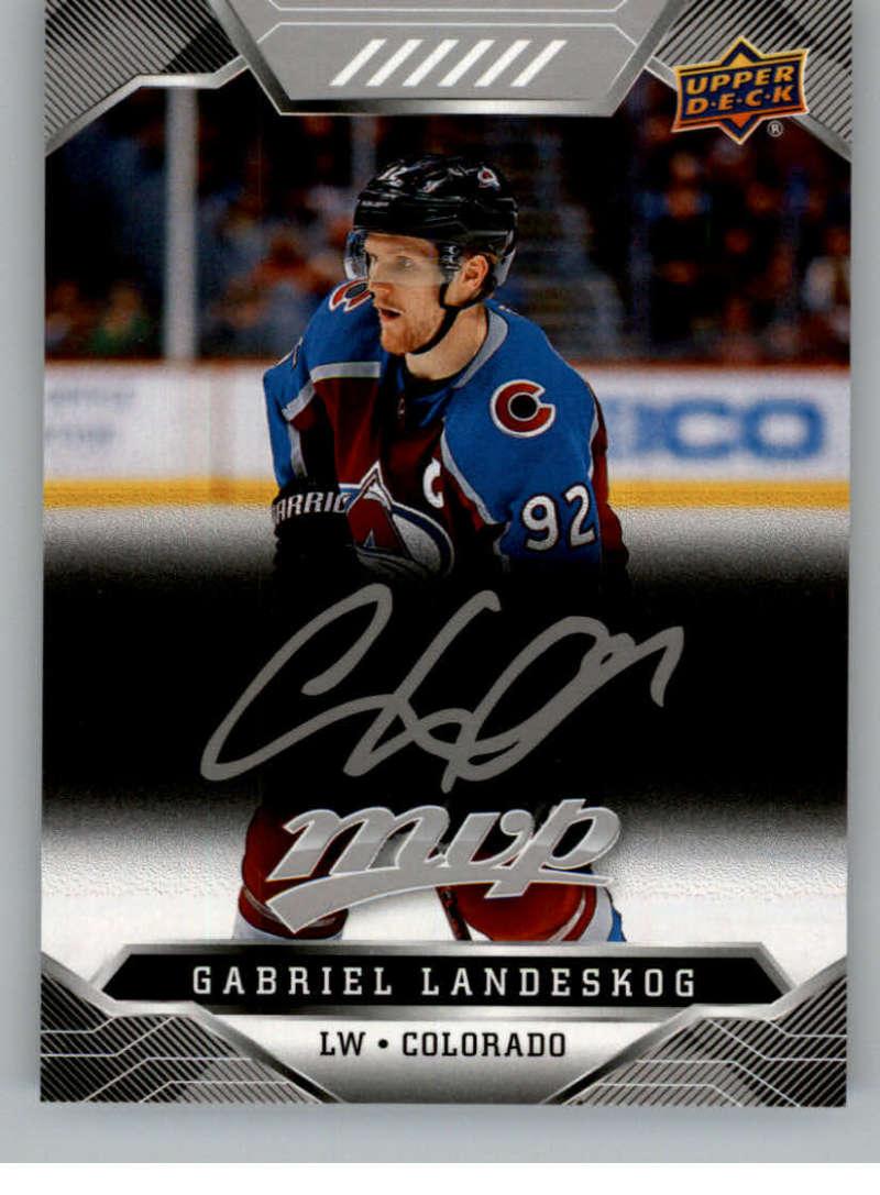 miniature 50 - 2019-20-Upper-Deck-MVP-Silver-Script-NHL-Hockey-Trading-Cards-Pick-From-List