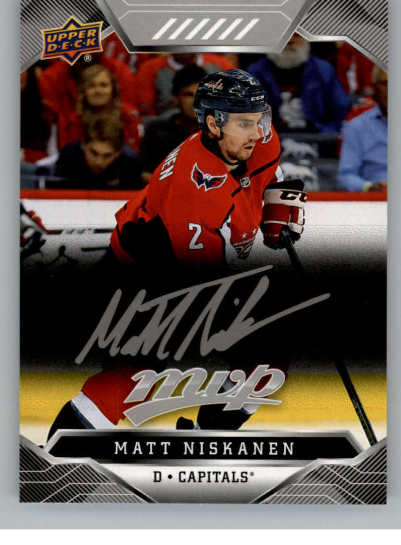 miniature 60 - 2019-20-Upper-Deck-MVP-Silver-Script-NHL-Hockey-Trading-Cards-Pick-From-List