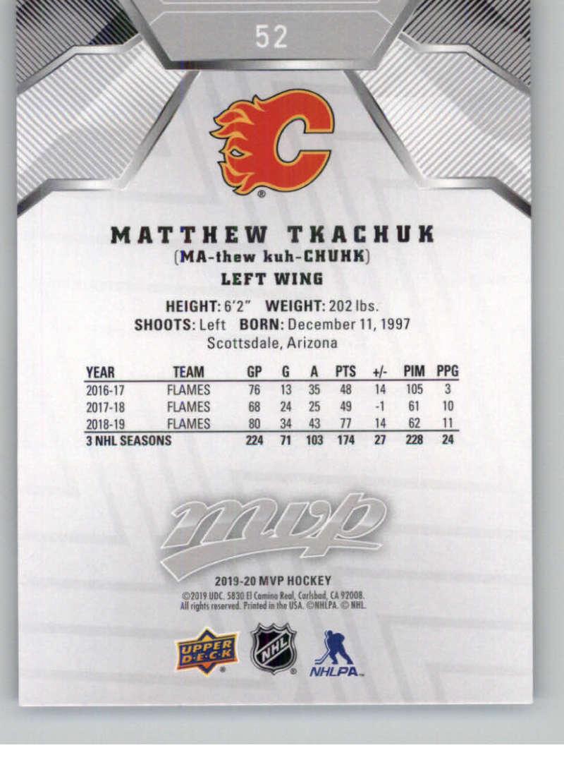 miniature 67 - 2019-20-Upper-Deck-MVP-Silver-Script-NHL-Hockey-Trading-Cards-Pick-From-List