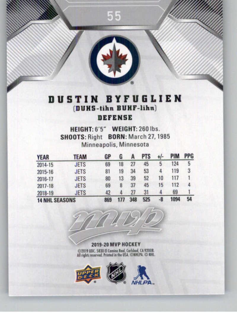 miniature 73 - 2019-20-Upper-Deck-MVP-Silver-Script-NHL-Hockey-Trading-Cards-Pick-From-List