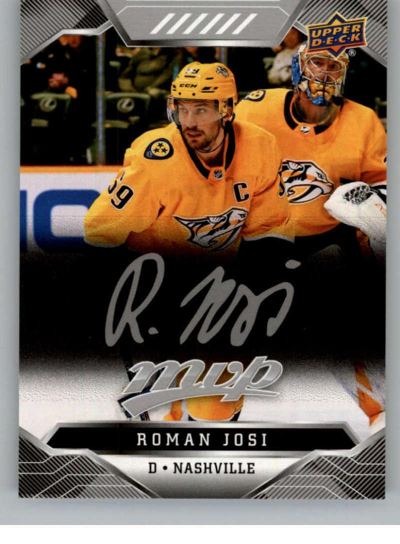 miniature 78 - 2019-20-Upper-Deck-MVP-Silver-Script-NHL-Hockey-Trading-Cards-Pick-From-List