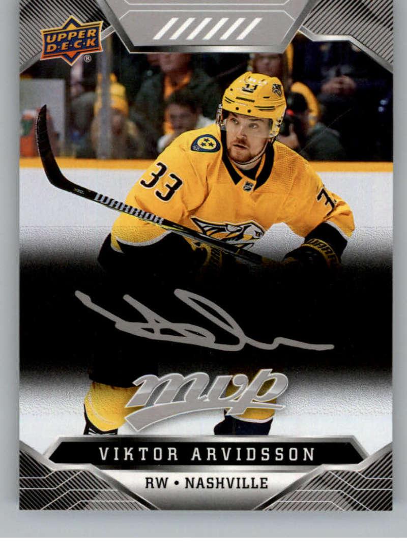 miniature 84 - 2019-20-Upper-Deck-MVP-Silver-Script-NHL-Hockey-Trading-Cards-Pick-From-List